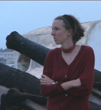 Katrina Browne at Cape Coast Castle
