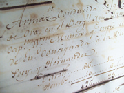 Record in National Archives of Cuba of James D'Wolf's slave ship Jane, captained by William Munro
